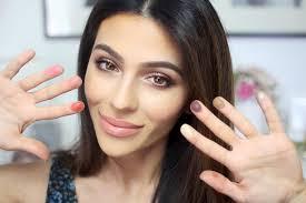 no brush makeup challenge everyday makeup natural makeup tutorial teni panosian you