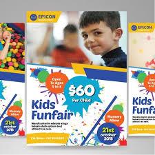 Free School Flyer Templates Play School Brochure Templates