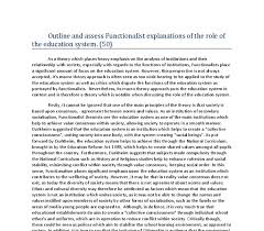 sociology essays pearson education macionis gerber sociology  outline and assess functionalist explanations of the role of the document image preview