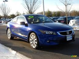 2008 Belize Blue Pearl Honda Accord EX-L V6 Coupe #28723428 ...