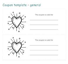 Microsoft Word Coupon Template Inspiration Love Coupon Template Word Regarding Gift Ms Digiloco