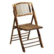 american chion bamboo folding chair dining room