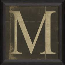 alphabet letter m framed wall art on wall art letters with alphabet letter m framed wall art by spicher and company