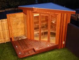 Build a sauna for home