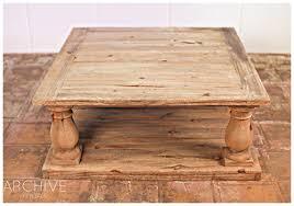 Beautiful Weathered Coffee Table Orion Coffee Table Large Square Weathered Wood  Coffee Table