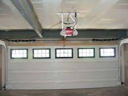 zero clearance garage door opener low ceiling garage door opener garage door opener low clearance low