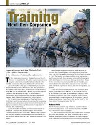Combat Corpsman Combat Casualty Care Q1 2015 By Tactical Defense Media