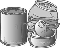 空き缶イラストの画像素材 食べ物飲み物イラストcgの