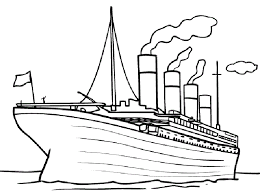 Small Picture Free Printable Titanic Coloring Pages For Kids