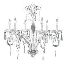 elegance 6 arm chandelier