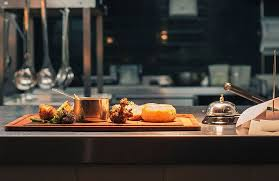 kitchen table with food. Watch The Theatrics Of Bustling Chef\u0027s Pass From A Serene Distance. Kitchen Table With Food