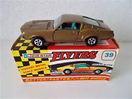 lone star flyers 39 lone star flyers bronze ford mustang gt fastback nmib usa muscle