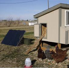 Solar Chicken Coop Light How To Build A Solar Powered Chicken Coop Pocketmags Com