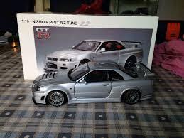 autoart 1/18 Nissan skyline gtr r34 z-tune 1st gen modified   in ...