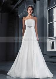 A Line Straight Neck Sleeveless Strapless Corset Back Ivory Twill