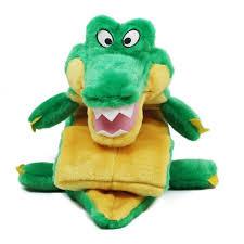 outward hound outward hound squeaker matz gator dog toy l