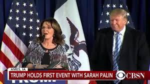 Best Bits of Sarah Palin s Crazy Endorsement of Donald Trump YouTube
