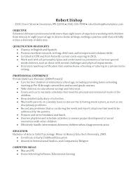 Nanny Resume Examples Inspiration Professional Nanny Resume Samples Resumes Examples Good Profile
