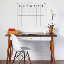 acrylic dry erase calendar board