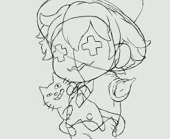 線画編レトルトくんとキヨ猫 イラスト描いてみた ノゾチー3000