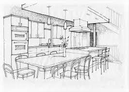 bathroom interior design sketches. Interior Design Sketches Kitchen On Excellent Drawings Perfect Drawn Sketch 1 Bathroom