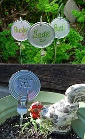 19 brilliant no money ideas to label the plants in your garden 8