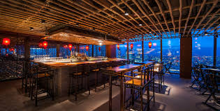 into lighting. Into Lighting Consultants Designed Award Winning Scheme For Hutong Restaurant At The Shard .