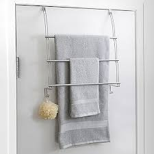 towel bar with towel. Totally Bath Over The Door Towel Bar With