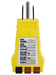 power gear 3 wire receptacle tester outlet tester 6 visual power gear 3 wire receptacle tester outlet tester 6 visual indications light indicator