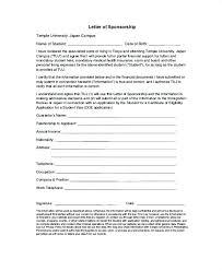 Format Of A Sponsorship Letter Custom Business Sponsor Letter Template Sponsorship Letter Proposal
