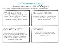 your personal swot analysis why millennials matter personal swot analysis 003