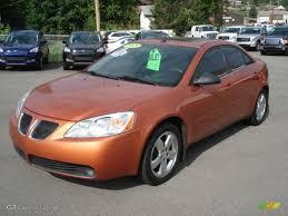 2005 Fusion Orange Metallic Pontiac G6 GT Sedan #69308366 Photo #3 ...