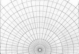 Free Printable Polar Coordinate Graph Paper Download Print
