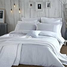 pinstripe bedding bed linen gray pinstripe bedding pinstripe duvet cover pale blue bedding blue white seerer