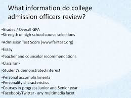 junior assembly presentation preparing for after high school  17 what information