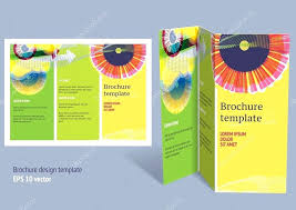 Editable Foldable Templates Z Fold Brochure Officialhaleybennett Com