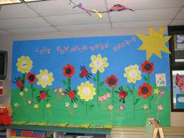 how much we ve grown spring bulletin board myclroomideas