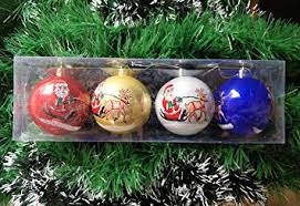 Buy Jiada <b>Santa Print</b> Big Size <b>Christmas Tree</b> Decoration Balls ...