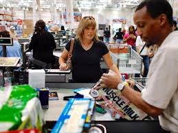 joe raedle staff getty images costco s marriage to visa