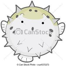 cute puffer fish clip art. Interesting Fish Puffer Fish  Csp4575373 With Cute Clip Art U