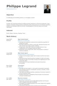 Real Estate Experience Resume Amazing Real Estate Resume Examples