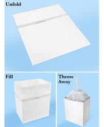 disposable trash cans. 3-Pk. Clean Cubes® 13-Gallon Disposable Trash Cans O