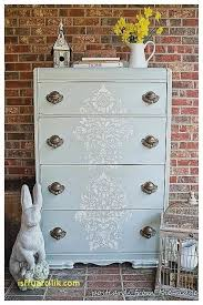 stenciling furniture ideas. Stenciled Furniture Dresser New Painted Ideas In Blue More Vintage Stenciling