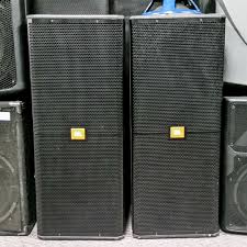 jbl used speakers. used jbl srx722 speakers pair speaker cabinet jbl speakers