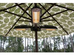 fire sense umbrella halogen patio heater fir hea 60404 by patio com