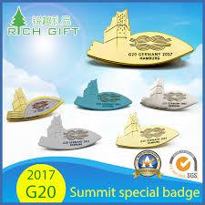China Manufactur <b>Wholesale Factory Price</b> Custom Gold Logo Metal ...