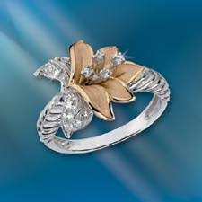 the concorde collection believe in miracles ring white topaz 14k gold sterling silver belief and hope in the wondrous br power of