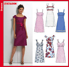 Patterns For Dresses Mesmerizing New Look 48 Misses Dresses