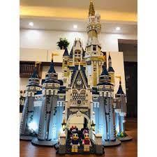 CÓ SẴN) lắp ráp 16008 Lâu Đài Disney Land Disney princess castle