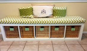 foyer furniture ikea. Aesthetic Ikea Hallway Storage Bench Using Square Rattan Baskets Throughout Ideas Foyer Furniture